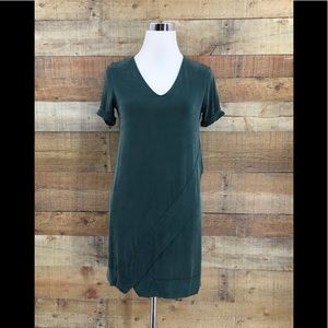 Dolan Left Coast Collection Green Soft Tunic Dress